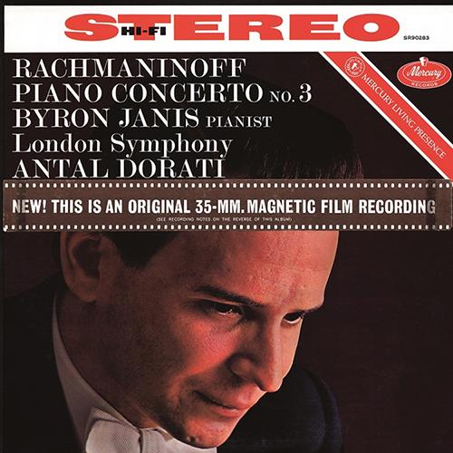 【停看聽音響唱片】【黑膠LP】Rachmaninoff: Piano Concerto No.3 in D Minor Byron Janis, LSO, Antal Doráti