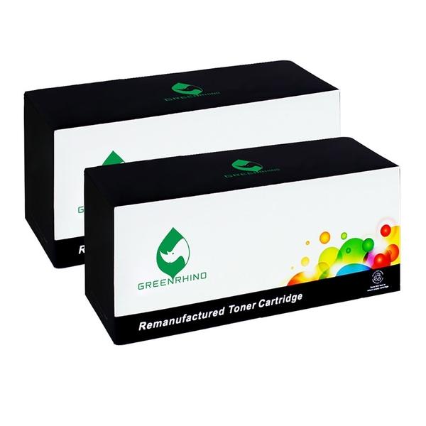 綠犀牛 for Fuji Xerox 2黑組 CT202330 高容量環保碳粉匣 /適用 DocuPrint P225d / M225dw / M225z / P265dw / M265z