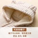 嬰兒連體衣秋冬季加厚男女寶寶外出服棉衣新...