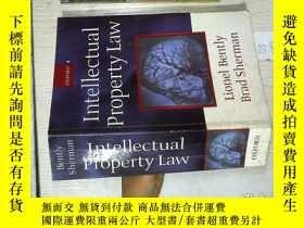 二手書博民逛書店Intellectual罕見Property Law 知識分子