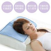 凝膠枕 2入 【BRI-RICH】夏日超涼爽低反發冷卻抗菌凝膠冰涼墊