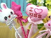 【GC225】韓版可愛動物星星緞帶造形原子筆 緞帶蝴蝶結筆 簽到筆 圓珠筆 二次進場禮 EZGO商城