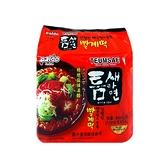 韓國 Paldo 韓國極地麻辣湯麵(120gx5入/整袋裝)【小三美日】