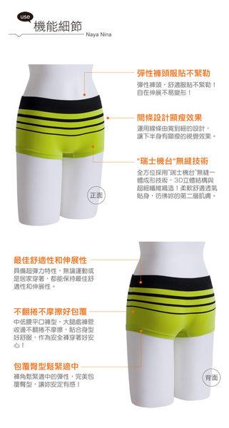 旋律!超彈力無縫中低腰平口褲S-XL(黑) NA15350012SEXYBABY 性感寶貝
