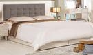 【森可家居】愛莎5尺雙人床(床頭片+床底) 8CM535-2 不含床墊