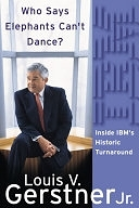 二手書博民逛書店《Who Says Elephants Can t Dance?: Inside IBM s Historic Turnaround》 R2Y ISBN:0060523794