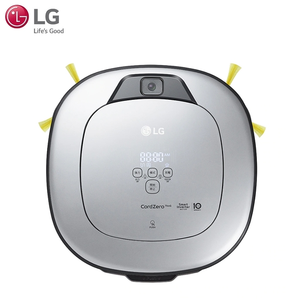 LG樂金CordZero™ WiFi濕拖清潔機器人-三眼 VR6698TWAR