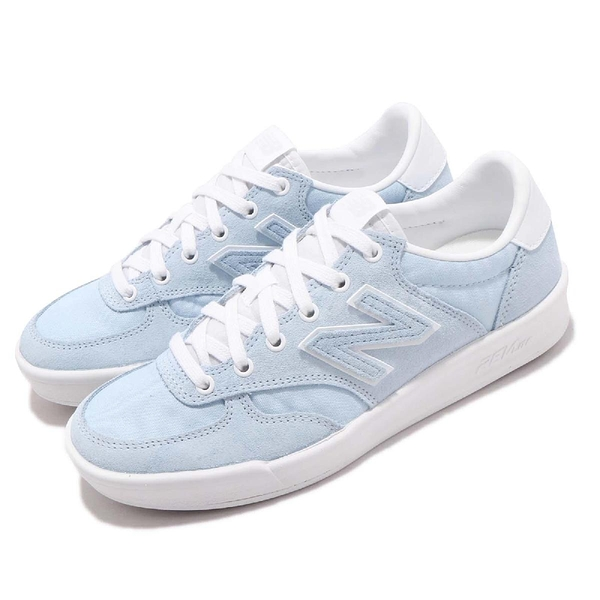 【五折特賣】New Balance 休閒鞋 300 NB 藍 白 麂皮鞋面 N字鞋 女鞋 運動鞋【ACS】 WRT300HCD