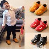 男童秋鞋新款兒童鞋子男 女童運動鞋2-3-4-5歲寶寶休閒鞋防滑 雲雨尚品