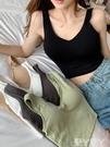 吊帶背心 秋冬韓版內搭無袖短款美背V領小吊帶外穿運動背心修身打底衫上衣 愛丫愛丫