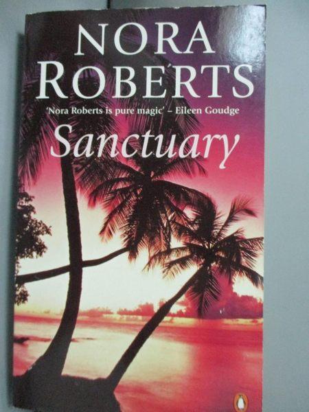【書寶二手書T9/原文小說_GSD】Sanctuary_Nora Roberts