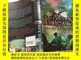 二手書博民逛書店PERCY罕見JACKSON RICK RIORDAN:珀西·傑克遜·裏克·裏奧丹Y200392