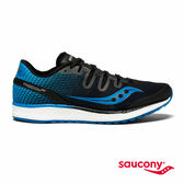 SAUCONY FREEDOM ISO 專業訓練鞋款-海藍x黑