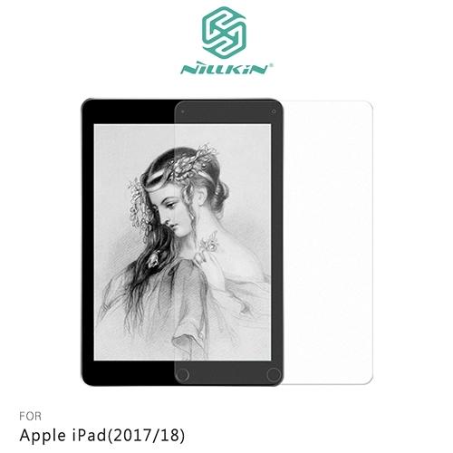 摩比小兔~NILLKIN Apple iPad(2017/18) AR 畫紙膜 保護貼 螢幕貼