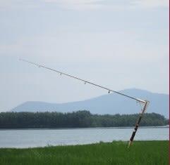 [協貿國際]  自動海竿超輕自動釣魚竿彈簧竿