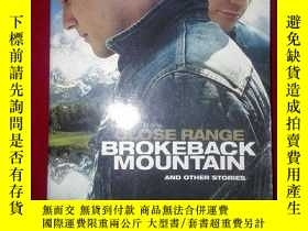 二手書博民逛書店CLOSE罕見RANGE BROKEBACK MOUNTAINY