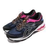 Asics 慢跑鞋 Gel-Kayano 26 黑 粉 女鞋 輕量透氣 運動鞋 【ACS】 1012A457004