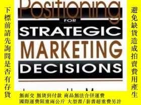 二手書博民逛書店Segmentation罕見& Positioning For Strategic Marketing Decis
