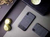 Alto iPhone Xs Max 真皮手機殼背蓋 6.5吋 Denim - 狼灰 【可加購客製雷雕】皮革保護套