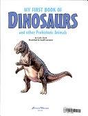 二手書博民逛書店 《My First Book of Dinosaurs and Other Prehistoric Animals》 R2Y ISBN:0709707916