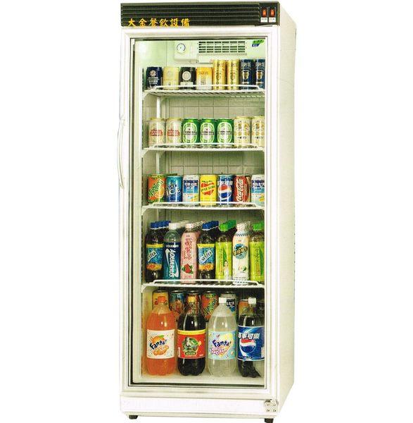 瑞興玻璃冷藏展示櫃/台製單門展示櫃/320公升/冷飲冰箱/玻璃冰箱/大金餐飲設備