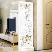 屏風 簡約現代時尚屏風創意隔斷裝飾櫃簡易客廳房間雙面移動門廳玄關櫃