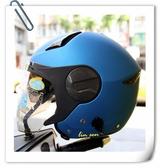 ZEUS瑞獅安全帽,ZS-612A,素色/消光銀藍