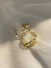 耳環 多層亮光金屬質感耳環新款潮耳圈簡約冷淡風韓國東大門耳飾
