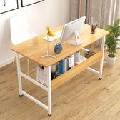 電腦桌臺式桌子簡約宜家經濟型臥室學生家用小戶型省空間簡易書桌  IGO