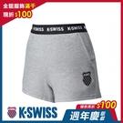 K-SWISS Ks Waist Band Sweat Shorts棉質短褲-女-灰