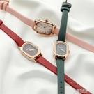 韓國wesure小金手錶仙女網紅手錶方形簡約氣質皮帶防水石英小方錶