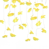 USB星星燈串-黃色雛菊