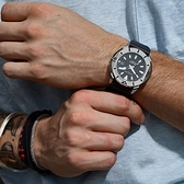 GIORGIO FEDON 1919 海洋系列200米機械錶-黑/47mm GFCH002