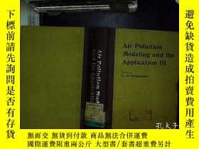二手書博民逛書店英文版:Air罕見pollution modelling and
