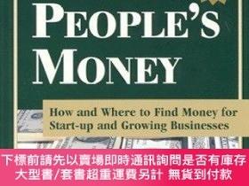 二手書博民逛書店Financing罕見Your Business Dreams With Other People s Money