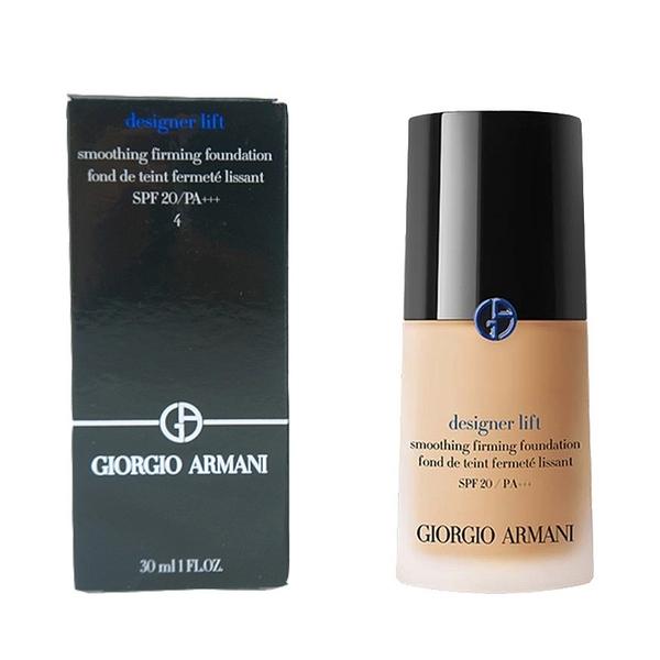 GIORGIO ARMANI 設計師水感光影粉底30ml#4 SPF20/PA+++ 自然肤色适用