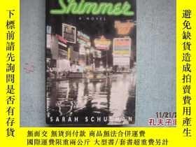 二手書博民逛書店英文原版書罕見SHIMMER A NOVEL SARAH SCHULMAN 詳細書名請看圖 精裝本 A7048