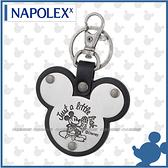【愛車族購物網】NAPOLEX Disney 米奇鑰匙圈-黑色