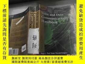 二手書博民逛書店Voice罕見and Data Communications H