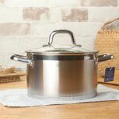 鑄鐵燉鍋加厚湯鍋304不銹鋼燉鍋家用電磁爐通用不粘復底煲igo 伊蒂斯女裝