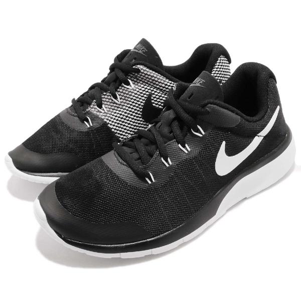 Nike 休閒鞋 Tanjun Racer GS 黑 白 內側不同色 舒適泡棉鞋底 運動鞋 女鞋 大童鞋【PUMP306】 AH5244-001