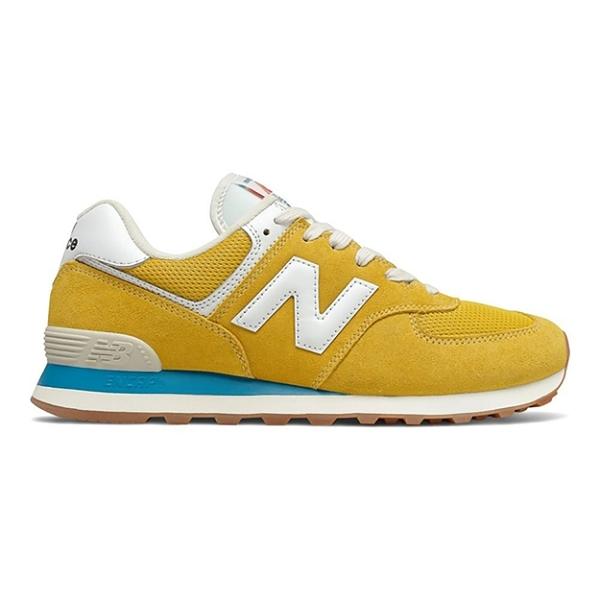 New Balance 574 焦糖 底黃 女款 復古 休閒 運動鞋 ML574HB2