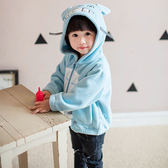 可愛卡通造型連帽外套 兒童外套 冬季保暖