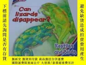 二手書博民逛書店英文繪本:CAN罕見LIZARDS DISAPPEAR(蜥蜴會消失嗎)Y204902