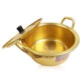 韓國 單人份泡麵鍋(附鍋蓋) 16mm 乙入◆86小舖◆