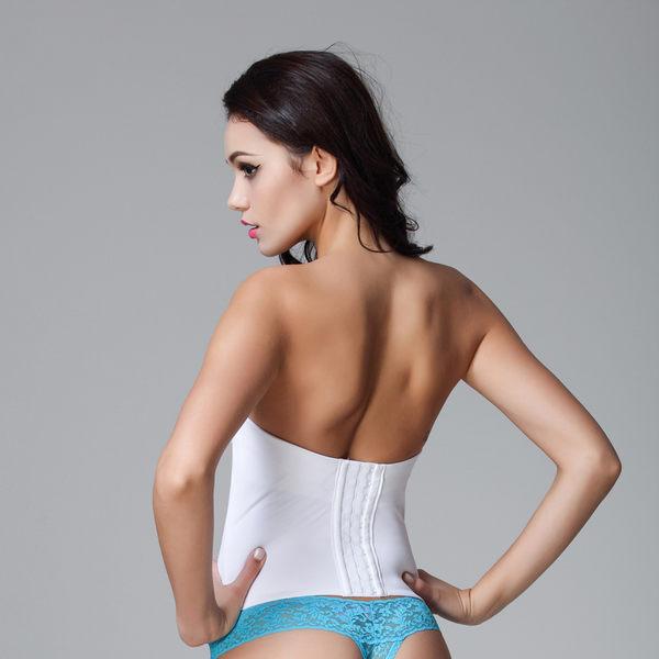 加厚小胸束身衣聚攏無肩帶防滑束腰束身 -11580010116
