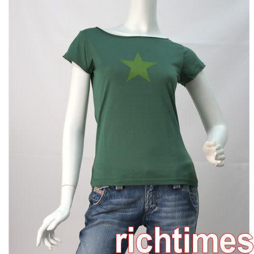 agnes b. 綠星上衣AB3A0549