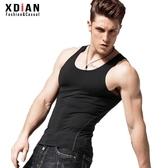運動背心男士跑步健身速乾透氣彈力緊身無袖修身型無痕打底夏季 潮