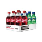 可樂雪碧寶特瓶350ml*12【愛買】