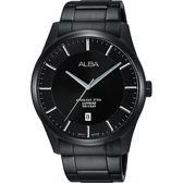ALBA 雅柏 城市簡約時尚手錶-鍍黑/40mm VJ42-X211SD(AS9C91X1)